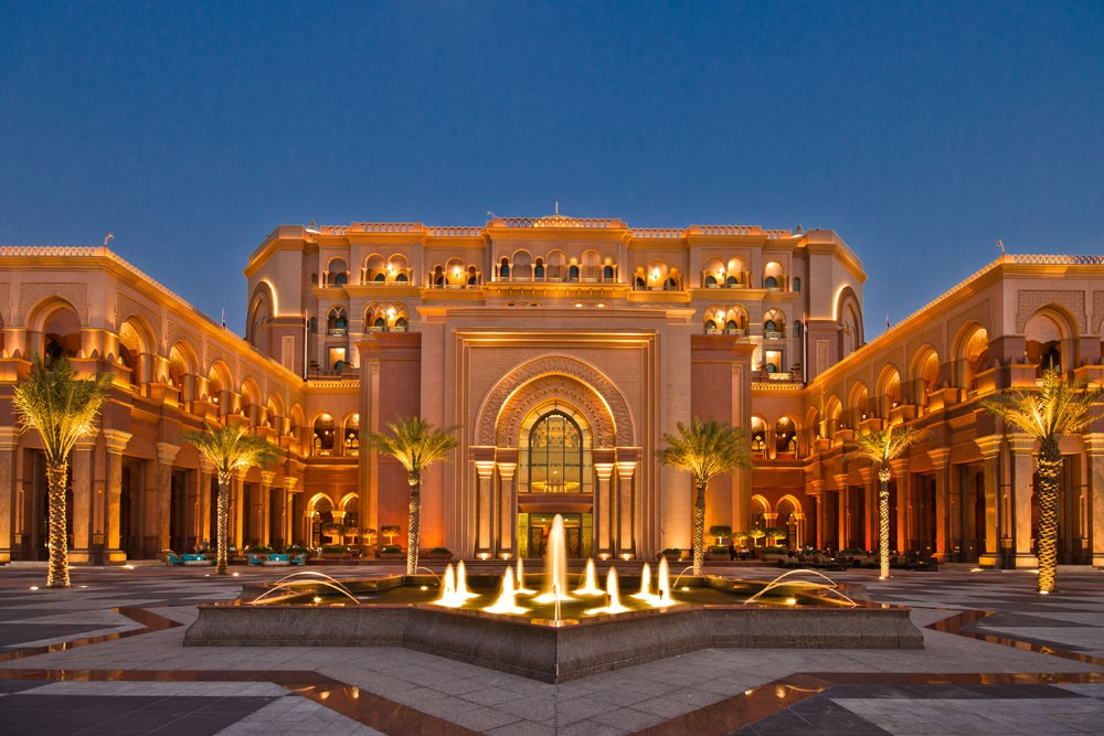 Emirates Palace ужин